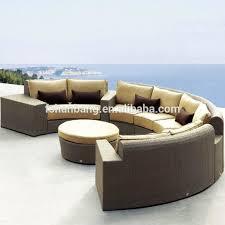 terrasse wicker harz rattan übergroßen großen viele outdoor möbel mexiko bankok indonesien halb runde sofa setzt buy groß viele