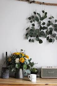 living diy dekorationsidee zum selbermachen eukalyptus