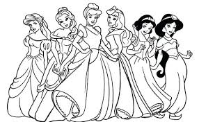 Disney Princess Jasmine Coloring Pages To Print Image Gallery