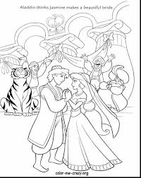 Stunning Disney Wedding Coloring Pages With Free And Colouring