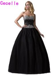 online buy wholesale princess prom dresses ball gown black from
