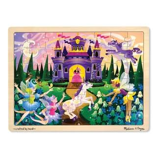 Melissa & Doug Fairy Fantasy Wooden Jigsaw Puzzle - 48 Pieces