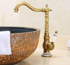 details zu retro messing bad wasserhahn waschbecken mischer waschtisch amatur antik keramik