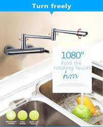 Wall Mounted Kitchen Faucet Single Handle by Hm Kitchen Faucets Kitchen Sink Faucet Single Handle Mixer Tap