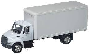 100 International Box Truck Amazoncom NewRay 143 4200 Toys Games