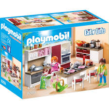 playmobil konstruktions spielset große familienküche 9269 city made in germany