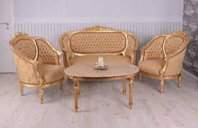 canape louis xvi salon style louis xvi canape 2 fauteuils 1 table basse en bois