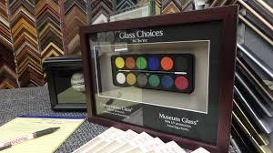 Non Glare Vs Reg Conservation Glass