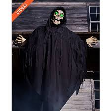 Spirit Halloween Animatronic Mask by 6 Ft Forest Demon Animatronics Decorations Spirithalloween Com