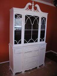 Vintage Duncan Phyfe China Cabinet by Second Hand Duncan Phyfe Makeover