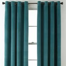 Grommet Top Curtains Jcpenney by Studio Athens Velvet Grommet Top Curtain Panel Jcpenney