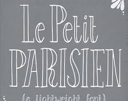 Hand Written Font Le Petit Parisien Light Modern Vintage Writing