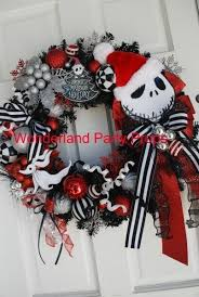 Nightmare Before Christmas Tree Topper by Halloween Nightmare Before Christmas Wreath Of Jack Skellington