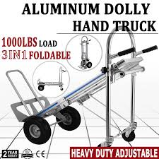3 In 1 All Aluminum Hand Truck Dolly 1000 LB Utility Cart Folding ... Hand Trucks R Us Harper Alinum Appliance Truck 800 Lbs Shop Dollies At Lowescom 15 Discount 3 In 1 Foldable Dolly Cart 1000 Lb In All Lb Utility Folding Magliner 1000lb Capacity Silver Convertible Milwaukee 4in1 Truck60137 The Home Depot Enchanting 2018 1000lbs Lift Luggage Carrier Portable 500 Modular With Double
