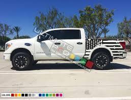 100 Truck Flag Set Of Side Bed American Decal Sticker Graphic Destorder US