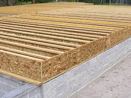 Raised Wood Floors
