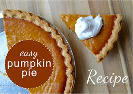 Libbys Canned Pumpkin Pie Recipe by Easy Pumpkin Pie Amber U0027s Recipe The Diy Lighthouse