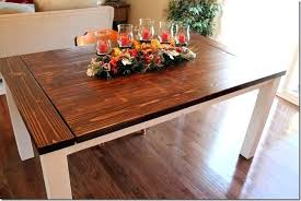 Dining Room Table With Leaves Farmhouse Extension Plans Sweet Tables Leaf