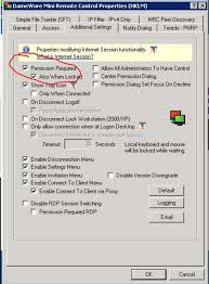 Solarwinds Web Help Desk Ssl Certificate by Changing The Permission Required Option In Dameware Mrc