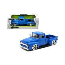 100 Just Trucks 1956 Ford F100 Pickup Truck Blue 124 Diecast Model