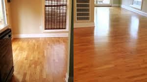 Restain Hardwood Floors Darker by How To Make Your Hardwood Floor Look Like New Again Youtube