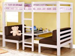 Bunk Bed Over Futon by Bunk Beds Full Size Loft Bed With Desk And Futon Chair Futon