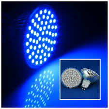 10pcs lot wholesale 60 led mr16 4w 3528 smd blue led spot light