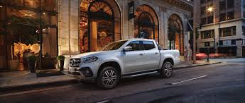 The Mercedes-Benz X-Class: Pickup Meets Lifestyle.