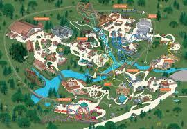 Interactive Theme Park Map