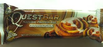 Quest Bar Cinnamon Roll Coconut Cashew