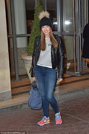 Shes Got The Look Gemma Merna Stepped Out In Bright New Balance Trainers And A