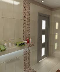 bilder 3d interieur badezimmer braun beige weiß baie bucur 3