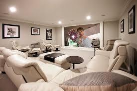 hi tech heimkino luxus einrichtung weiße lounge möbel