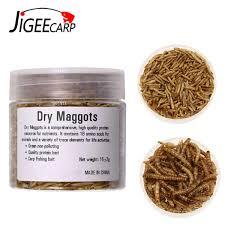 großhandel günstige köder jigecarp 1 flasche natürliche karpfen fischerei köder getrocknete brotwürmer getrocknete maden für karpfenangeln high