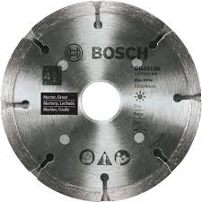 Dewalt Tile Saws Home Depot by Bosch 4 1 2 In Sandwich Tuckpointing Concrete Cutting Diamond Saw