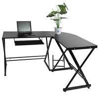 Ebay Corner Computer Desk by L Shape Corner Computer Desk W Mid Back Mesh Office Swivel Chair