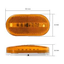 KEYECU 4pcs Red+4pcs Amber Marker Lights Outline Lamps Bus Truck ... 4 Led Optronics 2x4 Amber Bullseye Light For Trailers Marker Dorman Cab Roof Parking Marker Clearance Lights 5 Piece Kit 227d1320612977chnmarkerlighletsesomepicsem Intertional Harvester Ihc And Light Assemblies Best Clearance Lights Trucks Amazoncom Trucklite 8946a Oval Signalstat Replacement Lens Question About On Tool Box Archive Dodge Ram Forum Atomic Strobing Ford Truck Amber Aw Direct 2 X Side Marker Lights Clearance Lamp Red Amber Car Boat Trailer Led Lighting Foxy Lite Mini Round Installed Finally Enthusiasts Forums