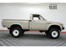 1982 Toyota Pickup For Sale | ClassicCars.com | CC-1071804 The Street Peep 1982 Toyota Hilux 4x4 Pictures Of Sr5 Sport Truck 2wd Rn34 198283 44toyota Trucks Uncategorized Curbside Classic When Compact Pickups Roamed 2009 August Toyota Pickup Album On Imgur Bangshiftcom This Could Be The Coolest Rv Ever Solid Axle 2wd Pickup Suspension Upgrade Suggestions Minis For Sale Classiccarscom Cc1071804 Hiace Wikipedia Information And Photos Momentcar