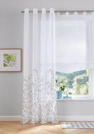 gardine yalinga my home ösen 1 stück vorhang