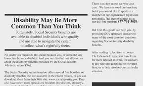 SOCIAL SECURITY DISABILITY BENEFITS PDF How To Answer Questions On Disability
