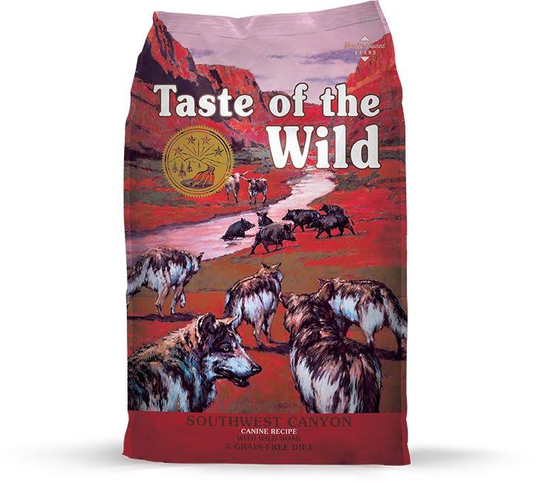Taste of the Wild Southwest Canyon Dry Dog Food with Wild Boar