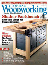 2008 issues of popular woodworking magazine