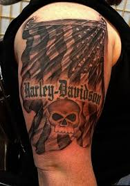 10 Of The Coolest Harley Davidson Tattoos Ever Seen