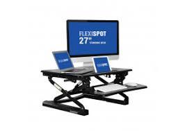 Kangaroo Standing Desk Imac by Sit Stand Desk Converters