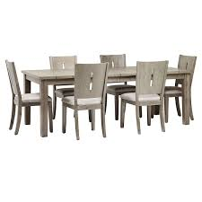 Sienna Gray Rect Table & 4 Wood Chairs | Dining Room - Dining Sets ... Venice Table With 4 Chairs By Fniture Hom Tommy Bahama Kingstown 5pc Sienna Bistro Ding Set Sale Ends 3piece Occasional Bernards Fniturepick Lexington Home Brands Mercury Row End Reviews Wayfair Grand Masterpiece Royal Extendable Pedestal Room Penlands Ambrosia Terrasienna Round 48 Inch Gathering With Terra Flared Specialt Affordable Tables For Office Industry Outdoor Living Spaces Counter Colors Generations Furnishings