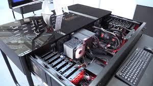 computex 2014 lian li dk 02x desk chassis modding pc pinterest