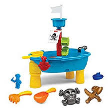 Sand U0026 Water Tables For by Amazon Com Pirate Ship Beach Sand And Water Play Table For Kids