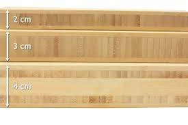 planche pour plan de travail cuisine plan de travail bambou naturel prémium la boutique du bois