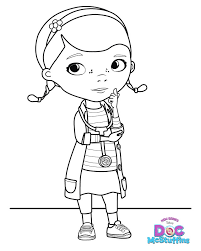 Great Doc Mcstuffin Coloring Pages 11 On Books With