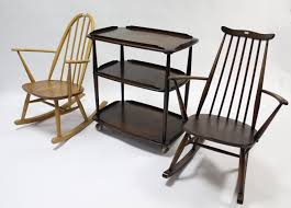 An Ercol Light Elm Spindle-back Rocking Chair; A Ditto Dark Elm ... Calabash Wood Rocking Chair No 467srta Dixie Seating Vintage Ercol Style Spindle Back Ding Chairs In Black Fniture Replacement Rockers For Shenandoah Valley Rocking Chair With Two Rows Of Spindles On Back Magnolia Home Shop Windsor Arrow Country Free Shipping Inoutdoor White Set The 3pc Linville Assembled Rockersdirectcom 19th Century 564003 Sellingantiquescouk Antique Birchard Hayes Company Inc Of 4 Rush Seat Lancashire Antiques Atlas
